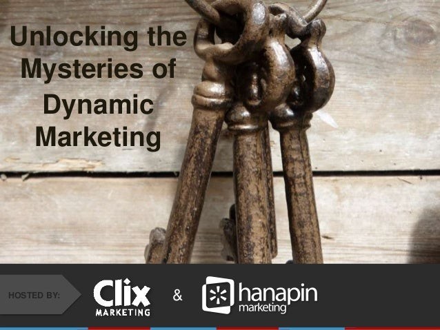 #THINKPPC &HOSTED BY: Unlocking the Mysteries of Dynamic Marketing