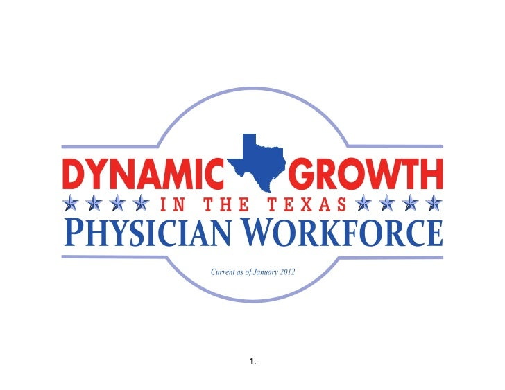 Dynamic Texas Physician Growth Due to Liability Reform