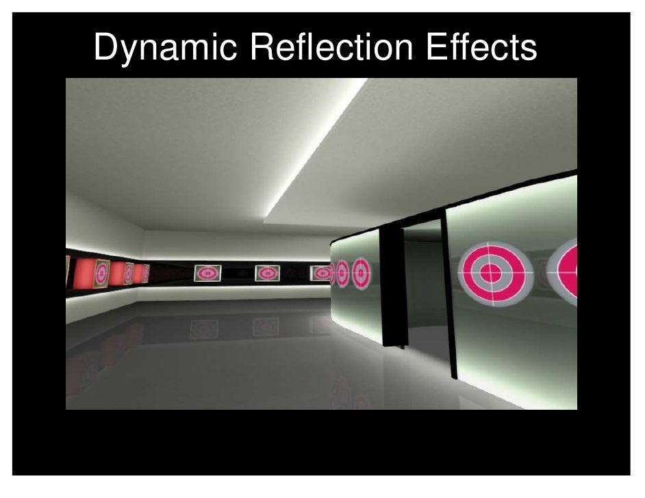 Experiment Raytracing Dynamic Reflection