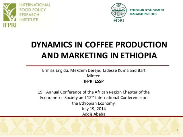Dynamics in coffee sector eea conference 16 june 2014