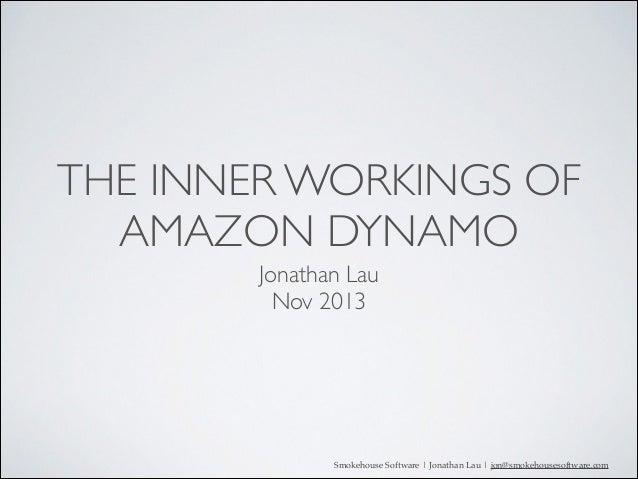 The inner workings of Dynamo DB