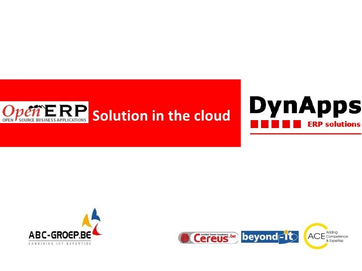 Solution in the cloud