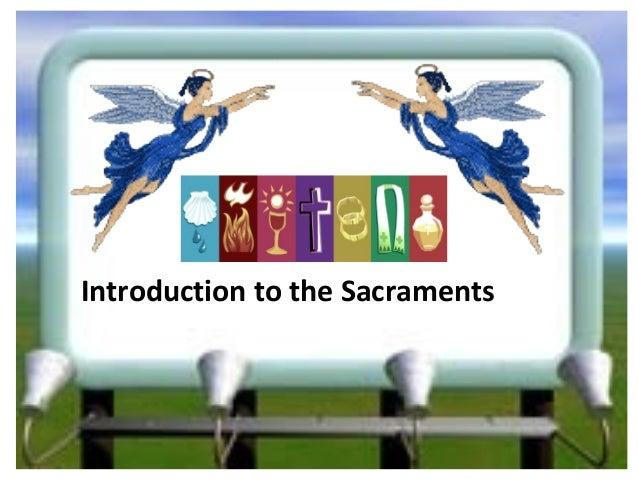 Dynarel lesson  introduction to sacraments