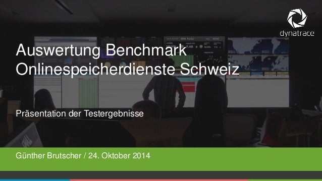 1  COMPANY CONFIDENTIAL –DO NOT DISTRIBUTE  #Dynatrace  Präsentation der Testergebnisse  Günther Brutscher / 24. Oktober 2...