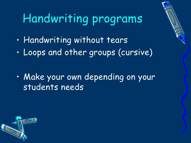 Handwriting is Boeing 747 Technology