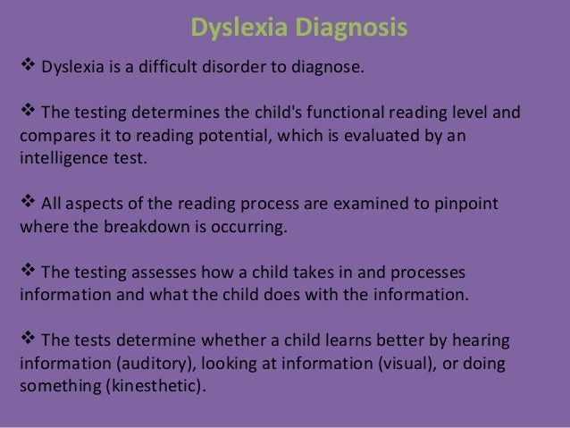 ma thesis dyslexia Dyslexia and information communication technology a 5 page paper that discusses dyslexia and information communications technology the writer begins with a brief introduction to dyslexia and what kinds of remediation have been found to be most successful.