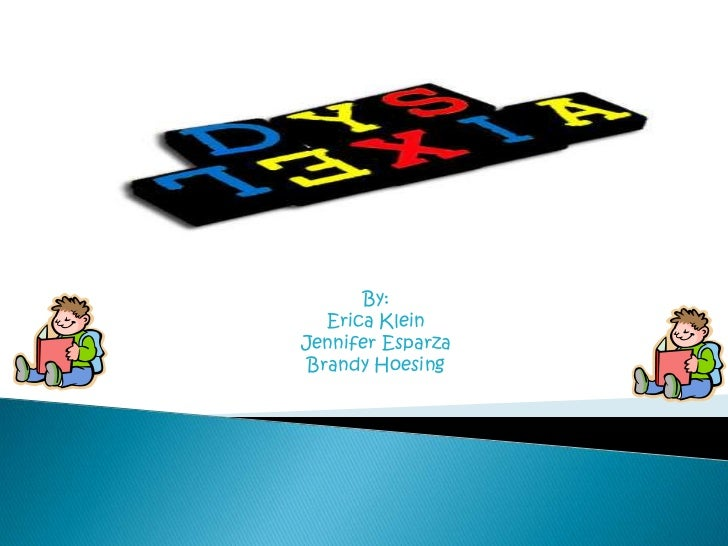 Dyslexia project