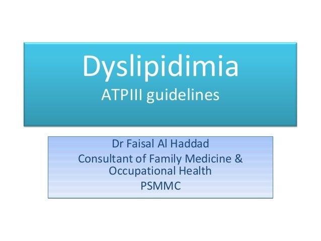 Dyslipidimia