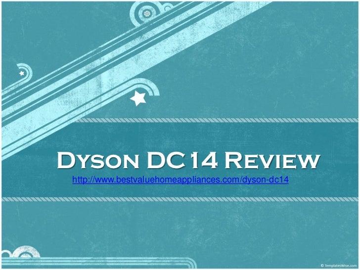 Dyson DC14 Review http://www.bestvaluehomeappliances.com/dyson-dc14