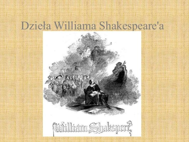 Dzieła williama shakespeare'a