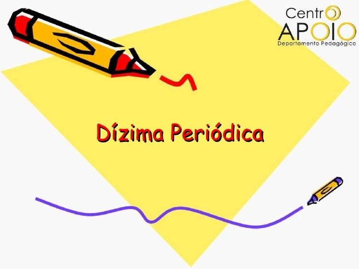 Dízima Periódica