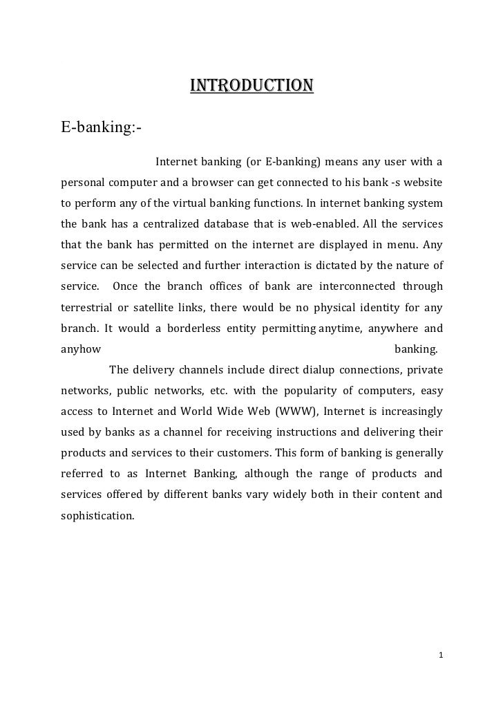 essay on banking services Free internet banking papers, essays, and research papers.