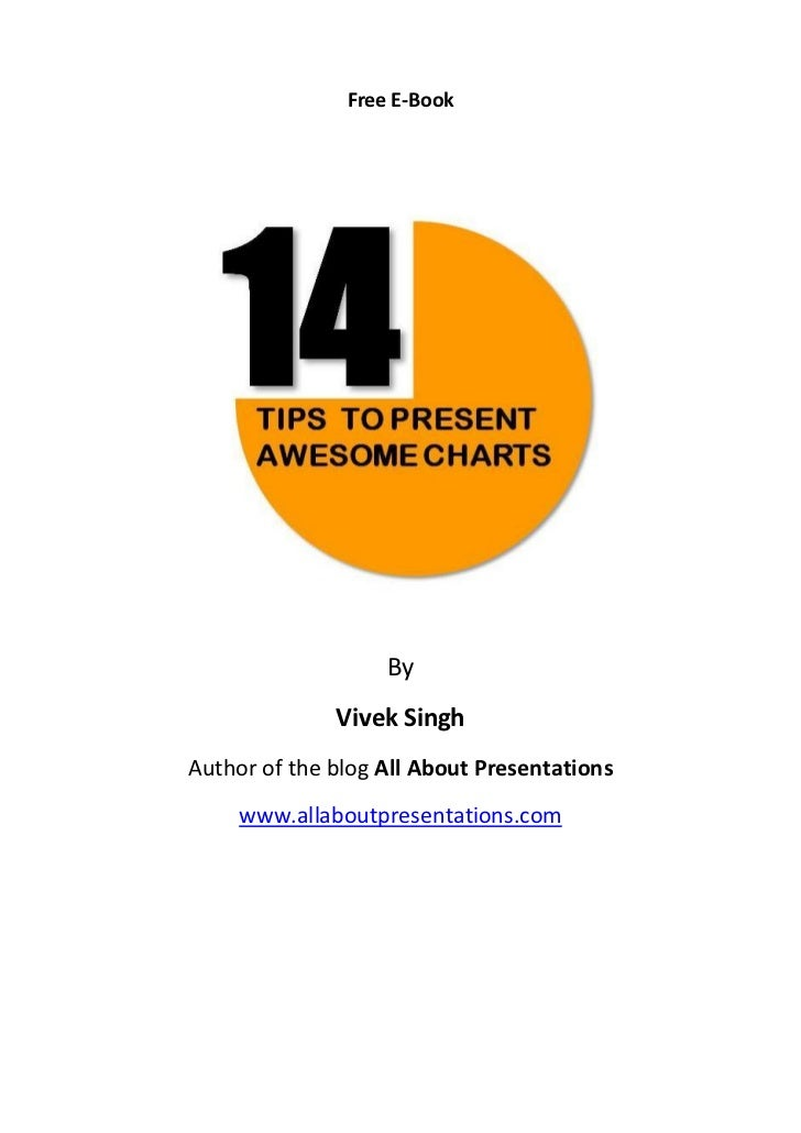 E book 14 tips to present awesome charts[1]
