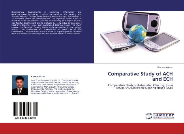 Comparative Study of ACH and ECH