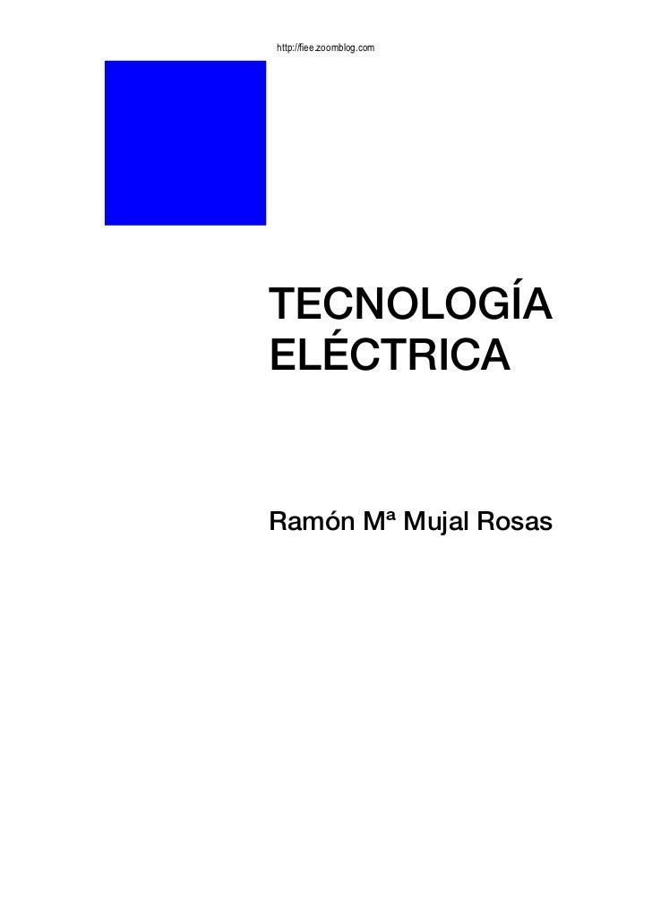 E book tecnologia electrica