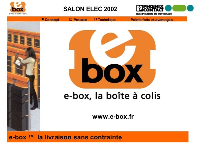 SALON ELEC 2002           Concept     Process    Technique    Points forts et avantages                               ...