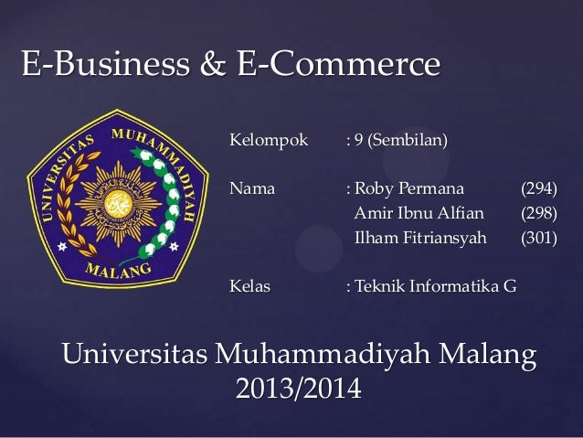 E business & e-commerce