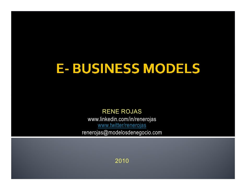 e business models essay Others, eg, grant (1996) for strategy, and pateli (2002) for business models, have done a much better job than us our goal is simply to explain why it might be useful to use the term.