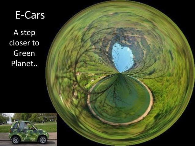 E-Cars A step closer to Green Planet..