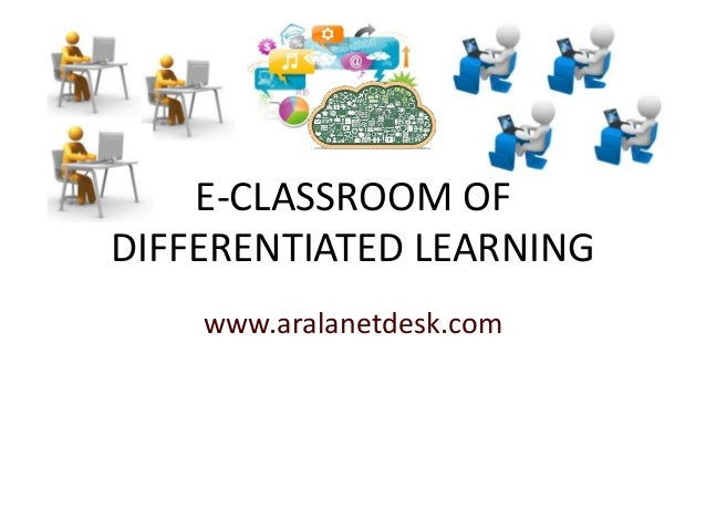 E-CLASSROOM OFDIFFERENTIATED LEARNINGwww.aralanetdesk.com