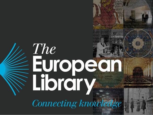 Chiara Latronico,Europeana Cloud - Ingestion Clinic, The European Library