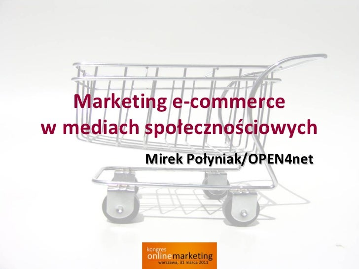 E-commerce w Social Media