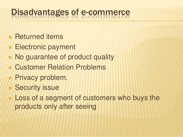 consumer benefits from e commerce Take a look at 10 powerful benefits to launching and maintaining a comprehensive b2b e-commerce website for your organization.