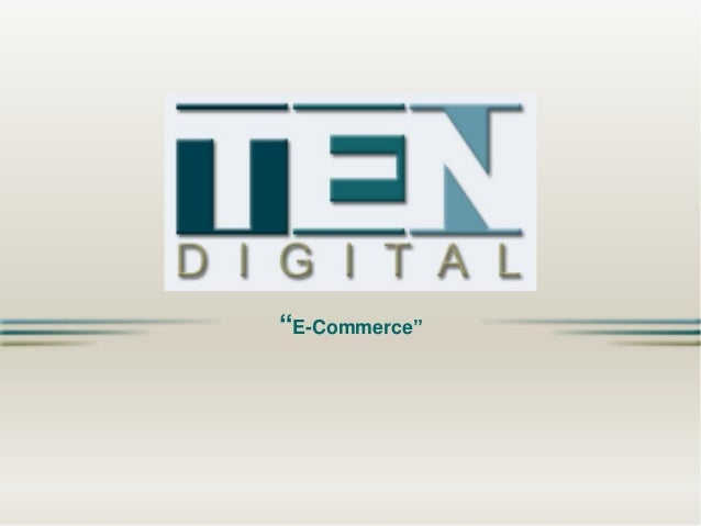 TEN Digital - E-Commerce - EN