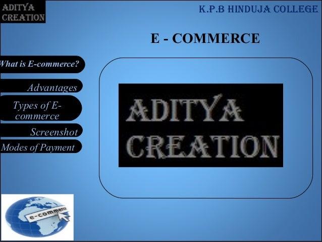 E commerce for tybcom