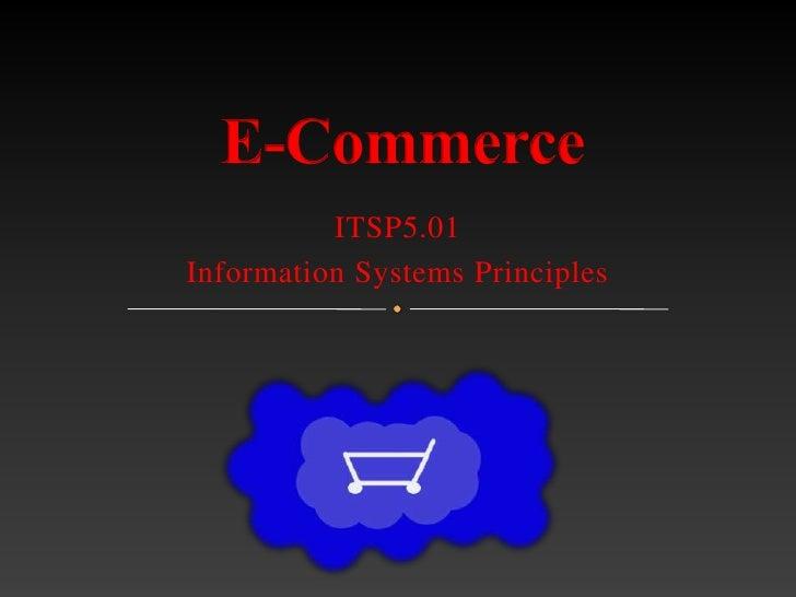 E-Commerce (ITSP501 course)