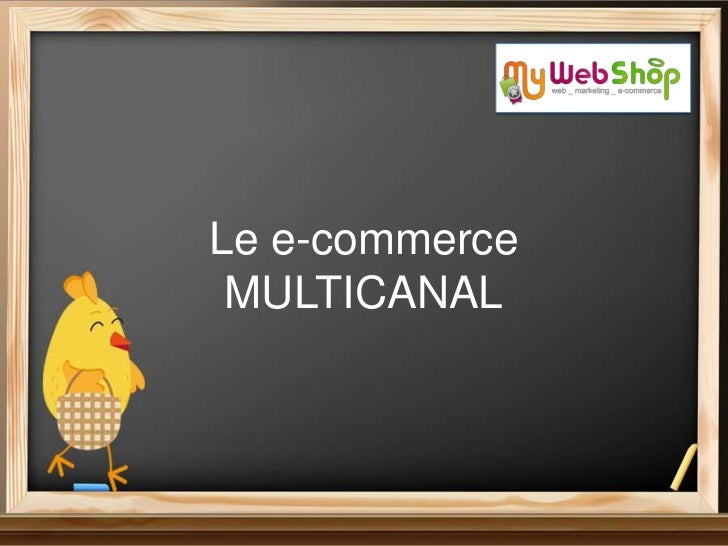 Le e-commerce multicanal