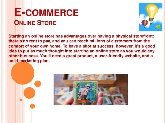 E commerce online retail Management