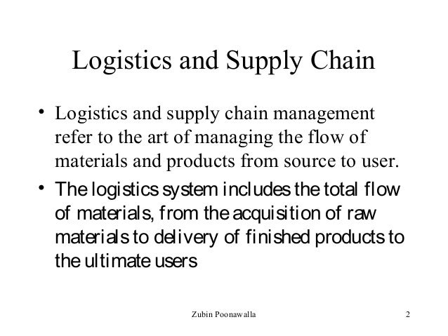 Logistics and Supply Chain Management sydney university arts