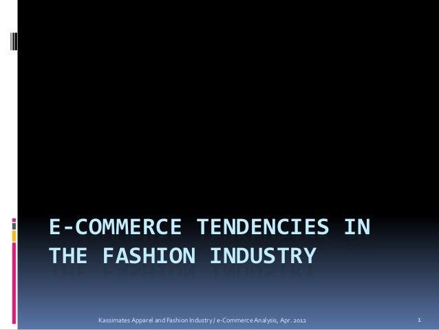 E commerce tendencies
