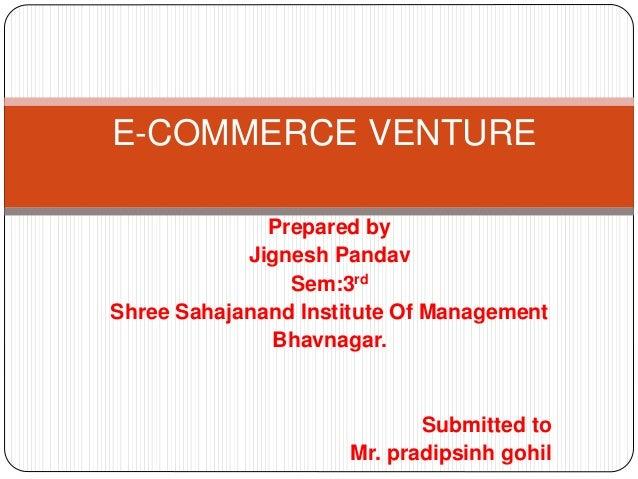 E commerce venture