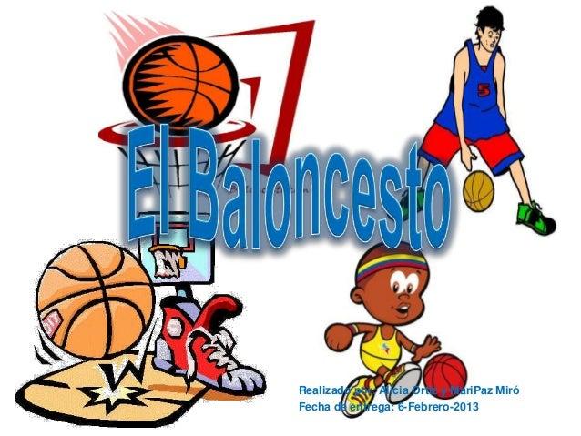 E.f baloncesto (historia y reglamento)
