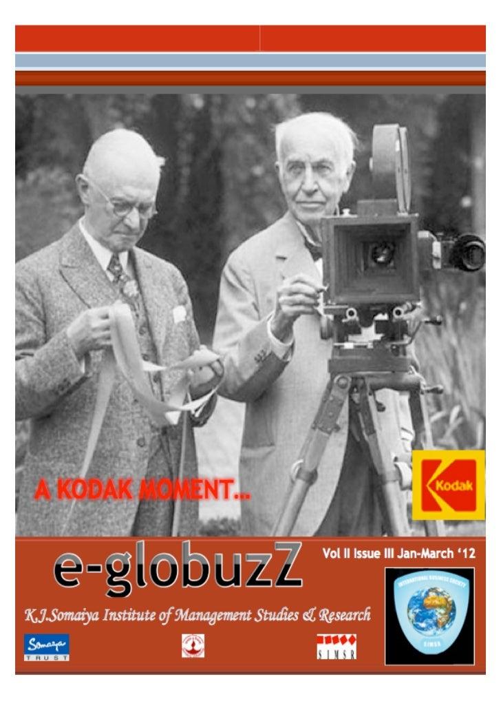 E globuzz vol ii issue iii