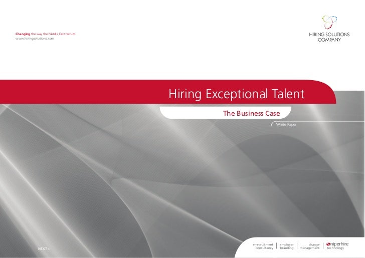 E hiring exceptionaltalent