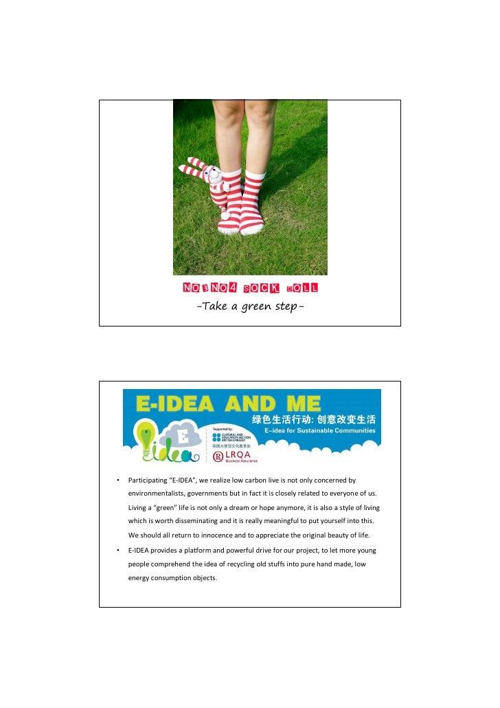 E idea country presentation - china - socks doll