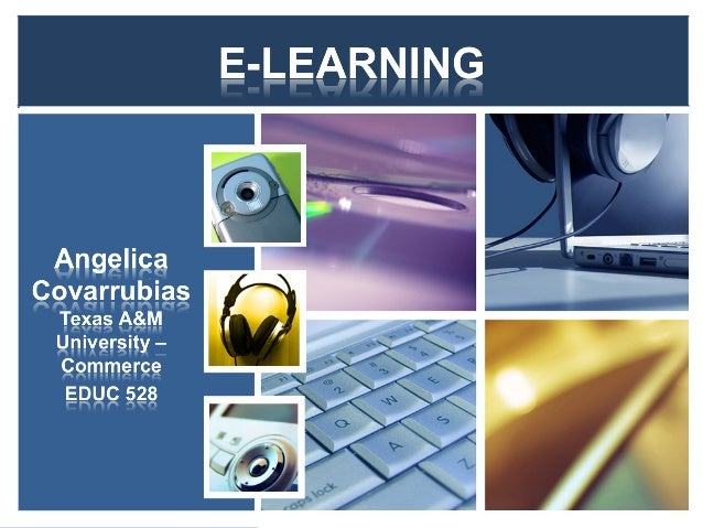 • What is E-learning? • Methods of E-learning • Levels of E-learning • E-learning in Adult Education • Technology and E-le...
