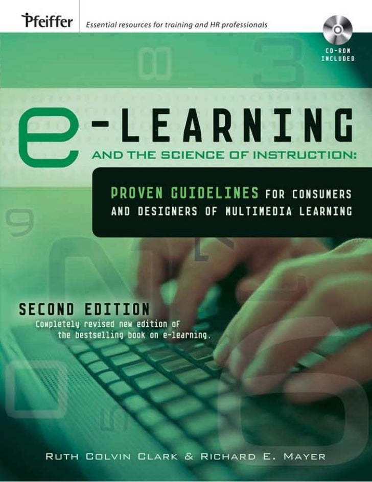 E learning and-the_science_of_instruction