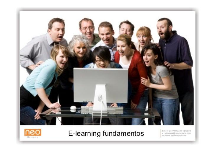 E  Learning Concepto, Elementos Y Metodología