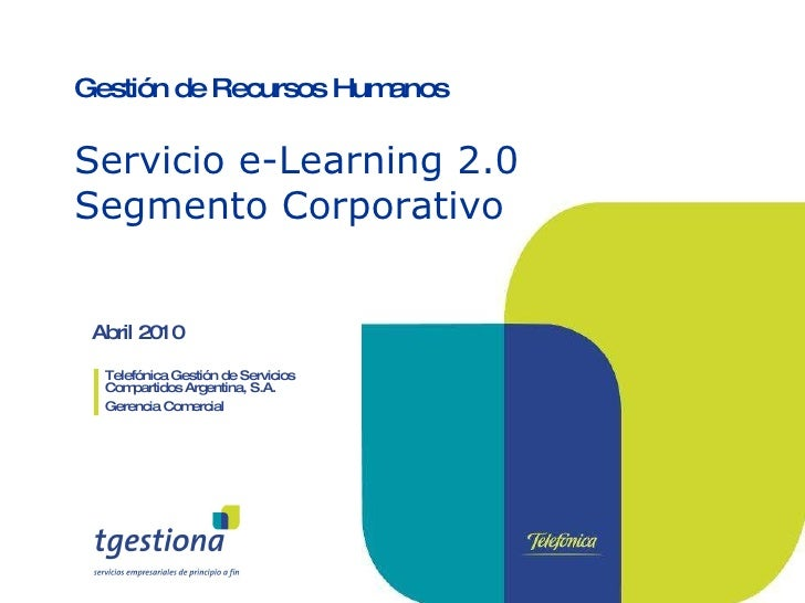 e-Learning 2.0 Segmento Corporativo
