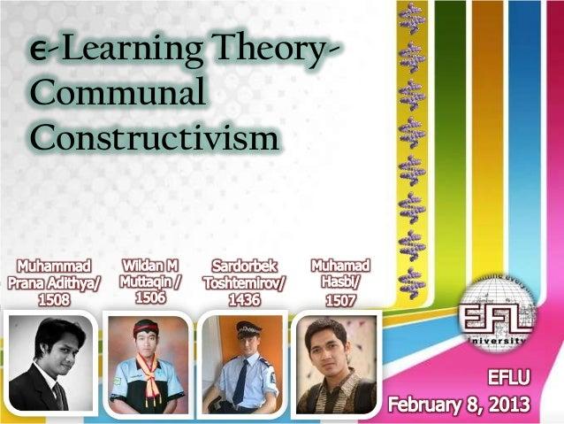 E learning theory