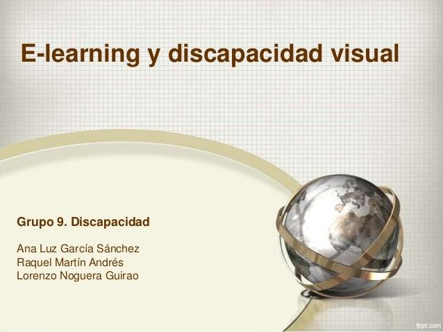 E learning y discapacidad visual