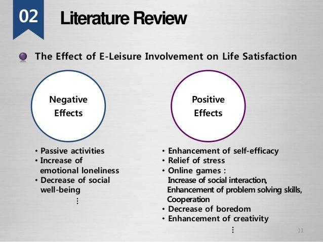 Undergraduate literature review