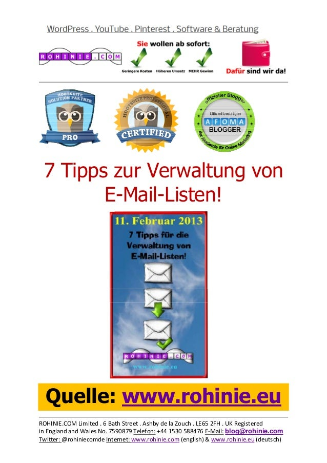 7 Tipps zur Verwaltung vo...