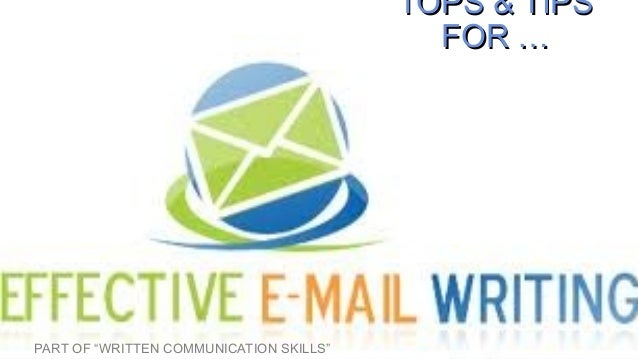 E mail communication
