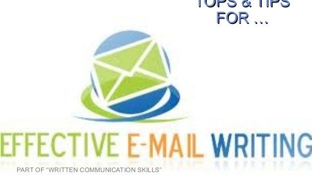 E mail communication