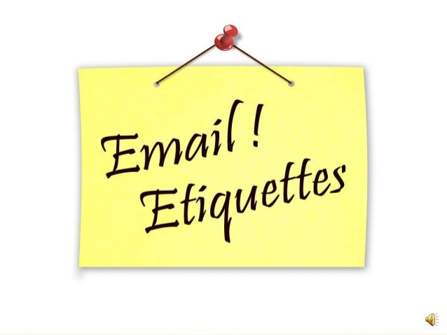 E mail etiquette : e mail etiquette 1 638 from www.slideshare.net size 638 x 479 jpeg 36kB